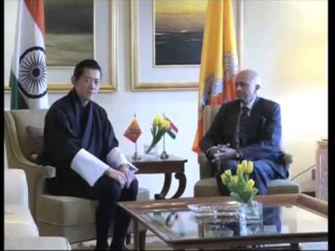 30 jan, 2013 - Bhutan King meets InForeign Secretary, discusses bilateral relationsdia's