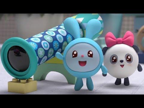 Малышарики - Калейдоскоп - серия 110 - обучающие мультфильмы для малышей 0-4 - тихие игры