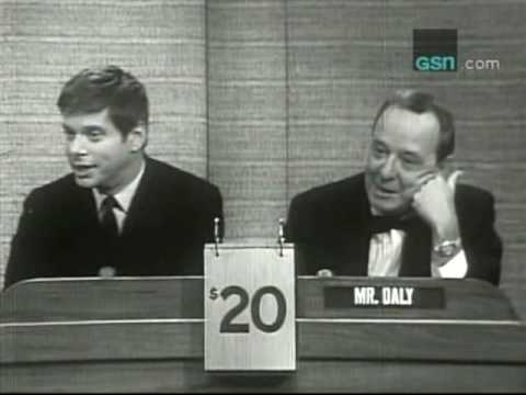 "Robert Morse on ""What's My Line?"""