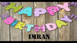happy birthday imran bhai