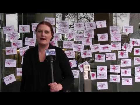 #Protest Against Israeli ZionistTerrorism in# Gaza Melbourne, Australia 9. 8.14