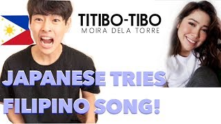 download lagu Japanese Tries To Sing Titibo-tibo By Moira Dela Torre gratis