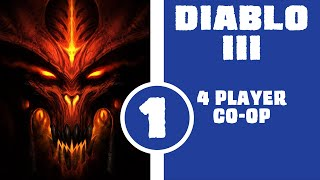 Let's Play Diablo 3 Console Edition - 4 Player Co-op - Part 1 - Deckard Cain the Closet Pervert