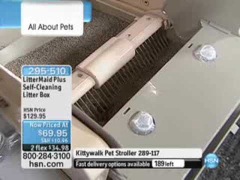 LitterMaid Plus Self-Cleaning Litter Box