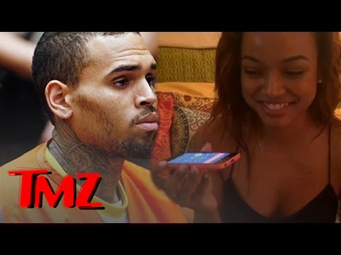 Chris Brown -- Calls Karrueche from Jail ... 'I Love You'