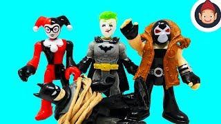 Imaginext Legends of Batman Crime Alley & Imaginext Batbot Extreme Toys