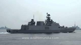 Indian Navy's world-class warship INS Satpura (F48)