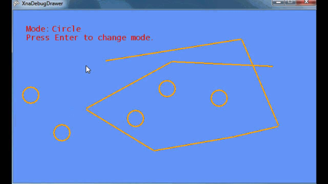 Drawing Lines In Xna : How to draw lines circles rectangles and other polygons