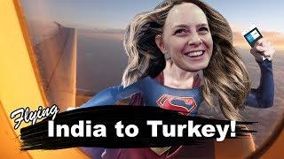 Flying Mumbai to ISTANBUL! ????????????????????