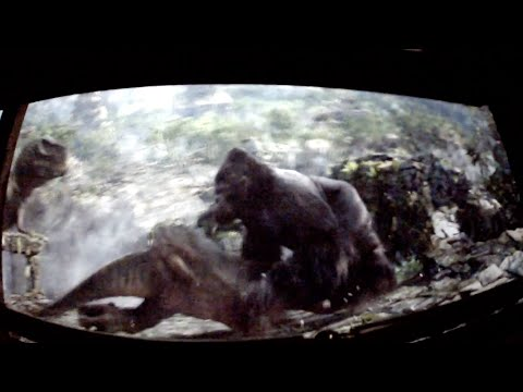 King Kong 360 3-d Ride At Universal Studios Hollywood video