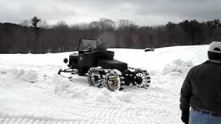 Model T Ford Snowmobile Meredith NH