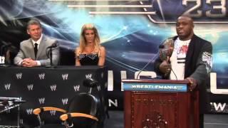 Donald Trump Hits Wrestling Promoter Vince McMahon