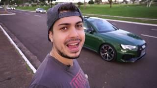 ANDEI NO AUDI RS4!! MELHOR QUE BMW???