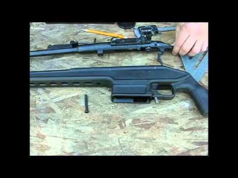Archangel Mosin Nagant Stock PU Scope Modification/Installation