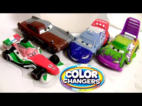 Wingo Color Changers Cars Raoul Caroule Disney Pixar Cars2 Cambiadores Multicolores Coches
