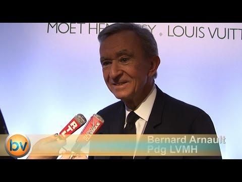 Interview Bernard Arnault Pdg LVMH confiant sur Louis Vuitton à moyen terme
