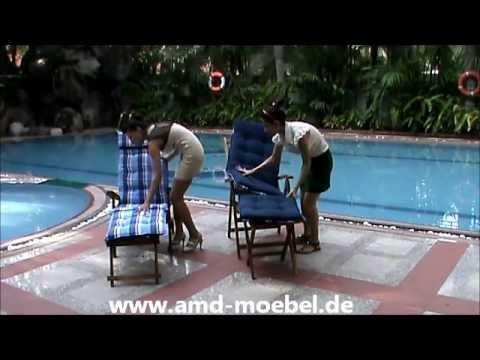 Www.amd-moebel.de - Deckchair Blau