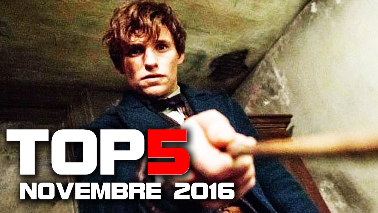 TOP 5 FILM AL CINEMA - Novembre 2016 [HD]