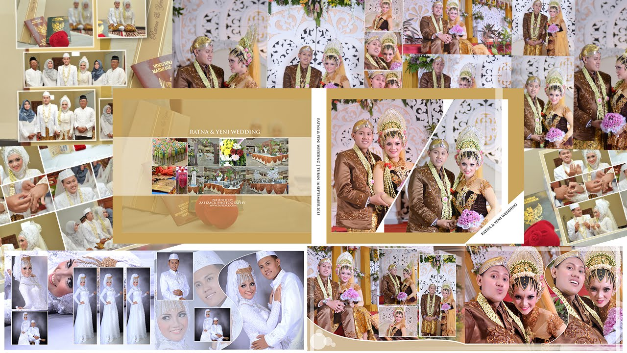 Tutorial photoshop kolase wedding