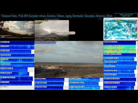 DEC🔴Live Hurricane, Earthquake and Volcano coverage: Agung, Kilauea, Popocatepetl
