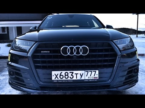 Валенки Audi + 10 Q7 3.0 TDI!) Карелия, день 1 - добираемся до точки старта приключений на льду : )