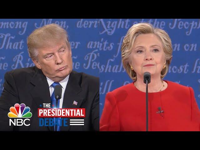 Hillary Clinton Criticizes Donald Trumps Comments About Women  NBC News