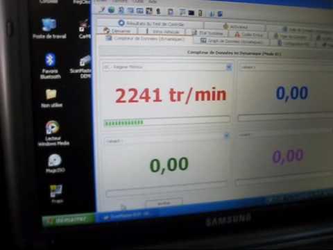 ELM327 1.2a OBD DIAG sur PEUGEOT 306 XS 16S