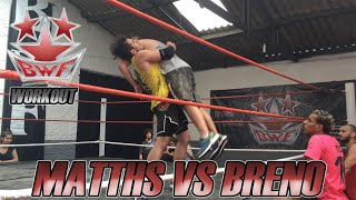 BWF Workout - Matths vs Breno (Training Highlights)