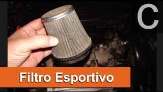 Dr CARRO Filtro Esportivo - Características e Cuidados Especiais