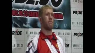 Sergei Kharitonov Post Pride 30: Fully Loaded Interview. 2005