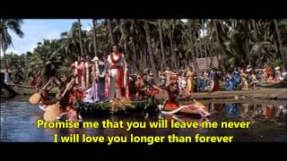 Ray Conniff - The Hawaiian Wedding Song (With lyrics)