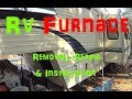 RV Furnace Removal, Repair & Installation (Suburban SF-30 Shown)
