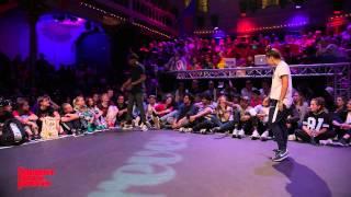 Jimmy Yudat vs Laura 1ST ROUND BATTLES Hiphop Forever - Summer Dance Forever 2015