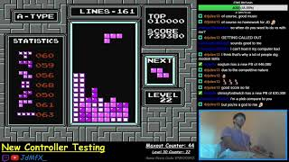 NES TETRIS - First Ever Maxout + Level 31 - 9/29/2018