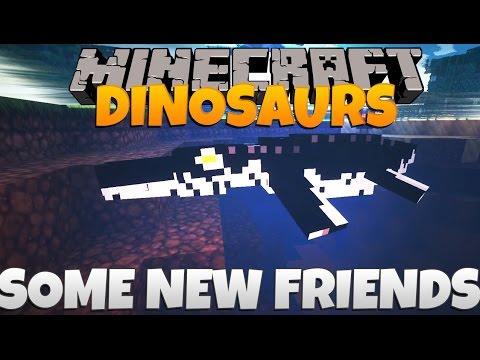 Minecraft Dinosaurs Part 53: Some New Friends.