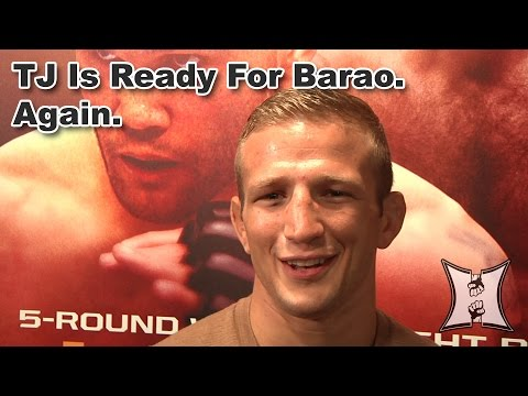 UFC Champ TJ Dillashaw Talks Barao Rematch Adding New Tricks To His Game