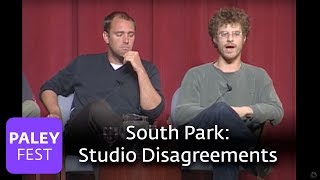 South Park - Matt Stone & Trey Parker on Disagreements with the Studio (Paley Center, 2000)