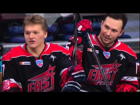 KHL All Star Game 2016: 3-on-0 rush challenge