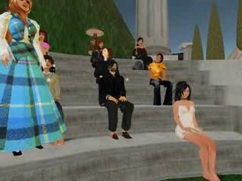 Diana Gabaldon event in Second Life