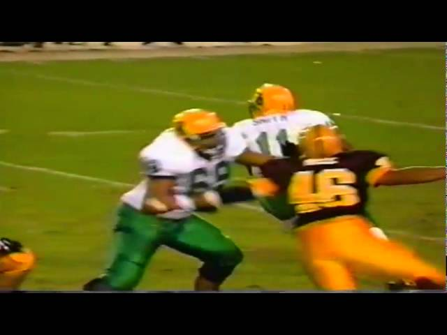 Oregon WR Tony Hartley 36 yard gain on deep pass vs. ASU 11-15-1997