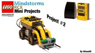 Lego Mindstorms RCX Mini Projects -- Project #2