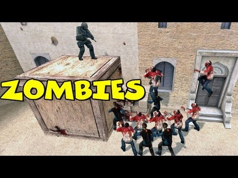 Funny Counter Strike Source Zombie Moments