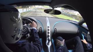 FIRST Onboard Footage of the Bugatti Chiron in Goodwood FOS