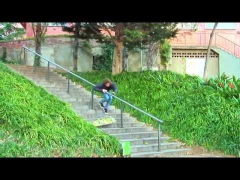 Jart Skateboards - Adrien Bulard feeble grind