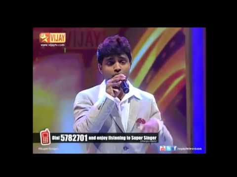 Super Singer Krishnan Aadatha Manamum Undo 16 01 2014 video