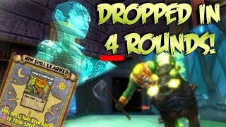 Wizard101: LOREMASTER DROPS HEADLESS HORSEMAN IN 4 RUNS!