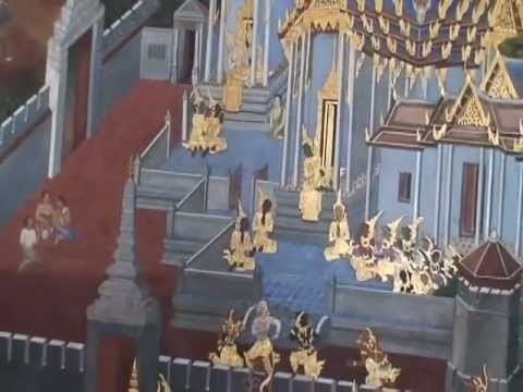 First Video of Thai Central Temple in 2006, Bangkok, Thailand