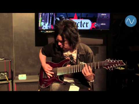 [namm] Schecter Hellraiser C-9 - 9-string Guitar video