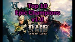 RAID: SL - Top 10 Epics v1.0