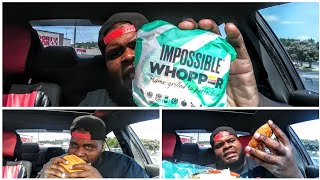 Burger King New impossible Whopper🍔🍔🍔